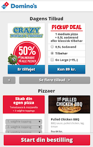 Domino's Pizza DK screenshot 2