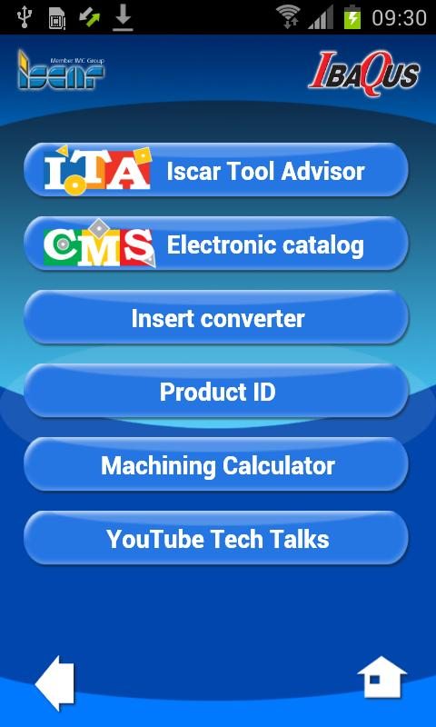 Iscar IbaQus- screenshot