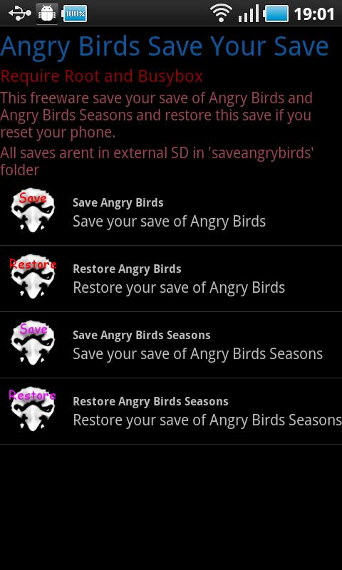 Angry Birds: Save Your Save - screenshot