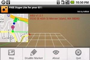 Screenshot of ARU