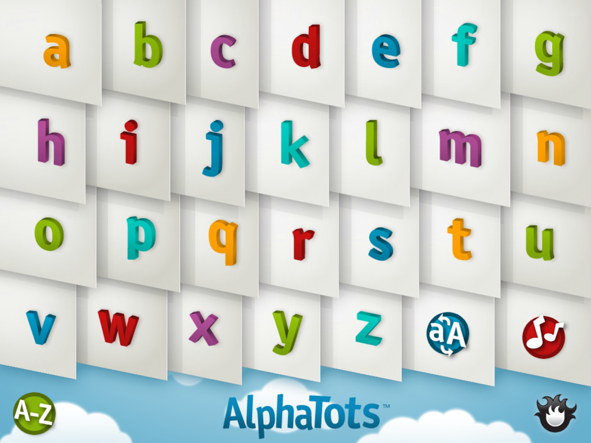 AlphaTots Alphabet- screenshot