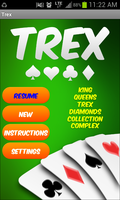 Trex Lite- screenshot