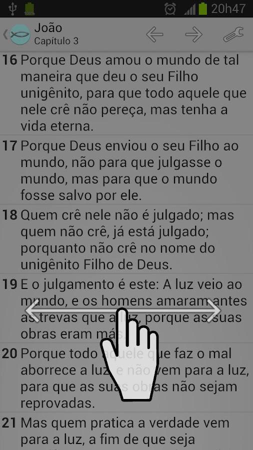 Bíblia Sagrada ACRF - screenshot