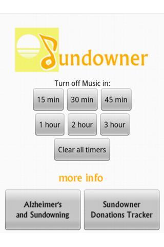 SunDowner- screenshot