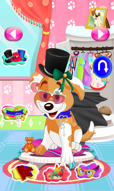 Puppy Care Games for Girls - screenshot