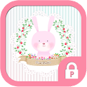 Pink Rabbit Protector Theme