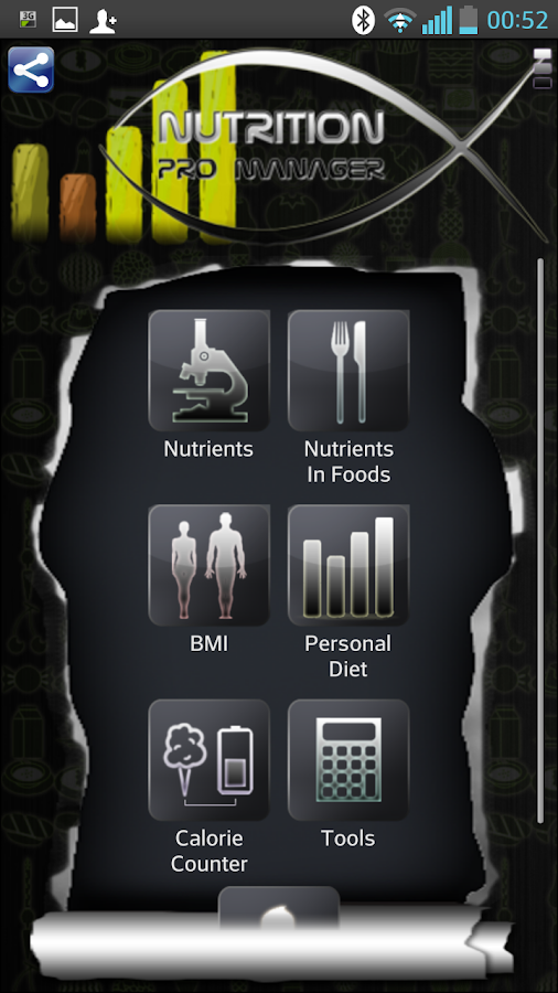 Nutrition Pro Manager (Demo)- screenshot