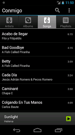 Conmigo Music Player