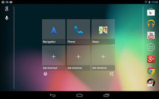 Screenshot of Car Widget