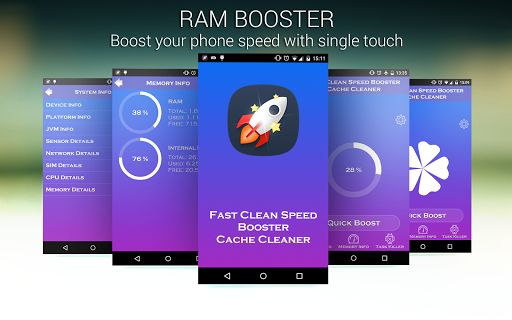 Fast Clean Speed Booster