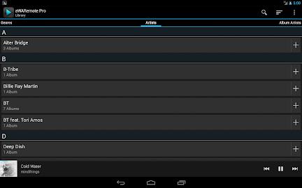 aWARemote for Winamp® Screenshot 9
