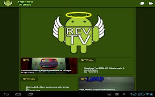 Screenshot of REVTV - ANDROID VIDEOS