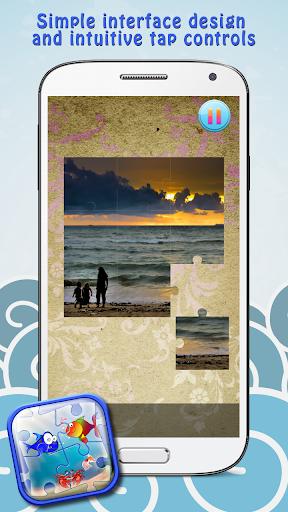 玩免費解謎APP|下載海洋拼图为孩子 app不用錢|硬是要APP