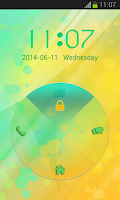 Screenshot of Lock Screen for Lenovo