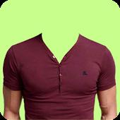 Man T-Shirt Photo Montage