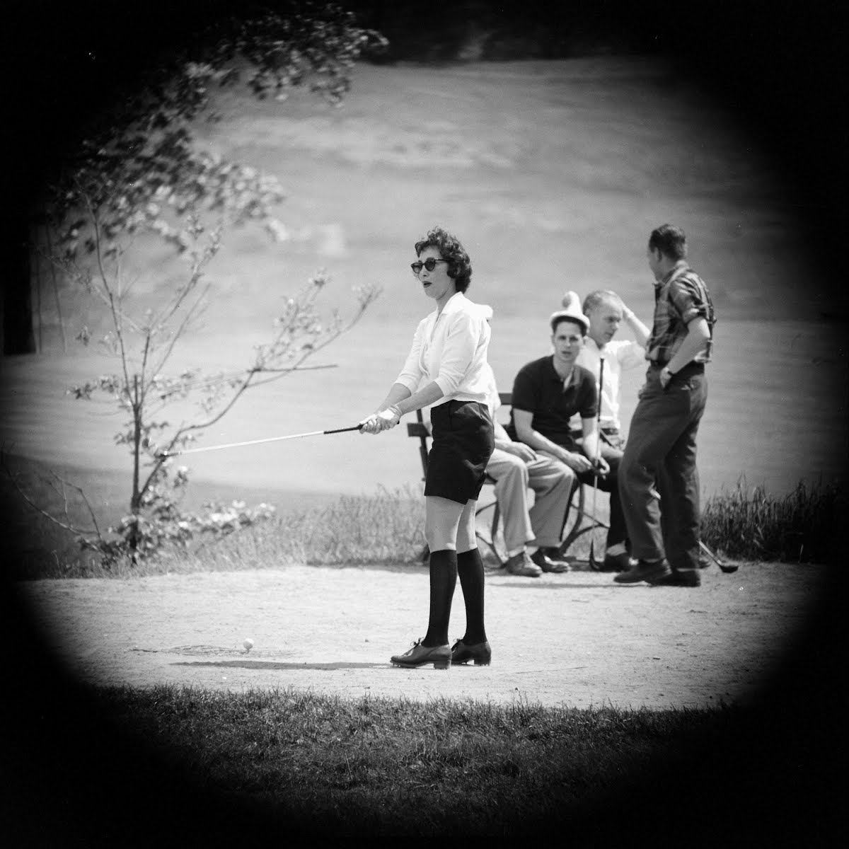Woman In Golf