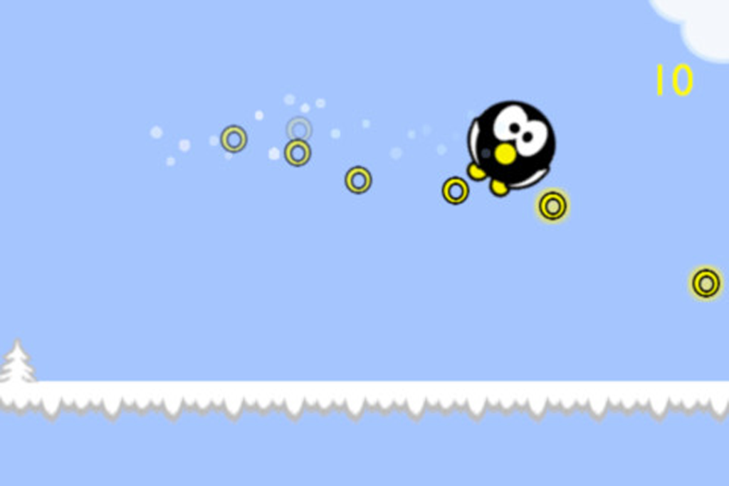 Penguin Roll Free - screenshot