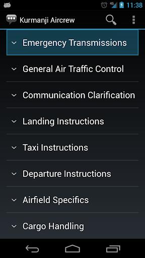 【免費通訊App】Kurmanji Aircrew Phrases-APP點子