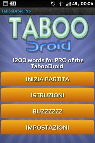 TabooDroid Pro