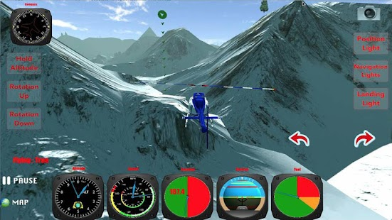 X Helicopter Flight 3D - screenshot