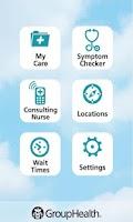 Screenshot of Group Health Mobile