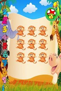 Happy Monkey Counting Free - náhled