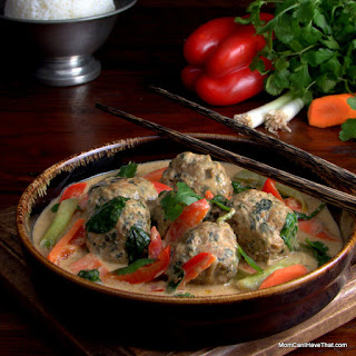 Massaman Curry With Turkey Meatballs