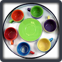Baby learning Kitchen objects icon