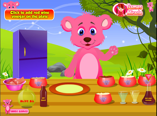 เกมส์หมีน้อยทำแซลมอน