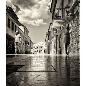 Visegrad, Bosnia! by Marko Icelic - City,  Street & Park  Street Scenes