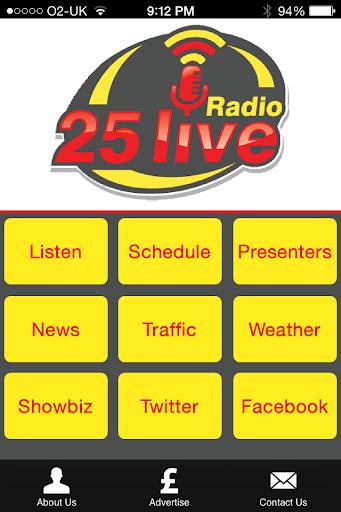 Radio 25 Live