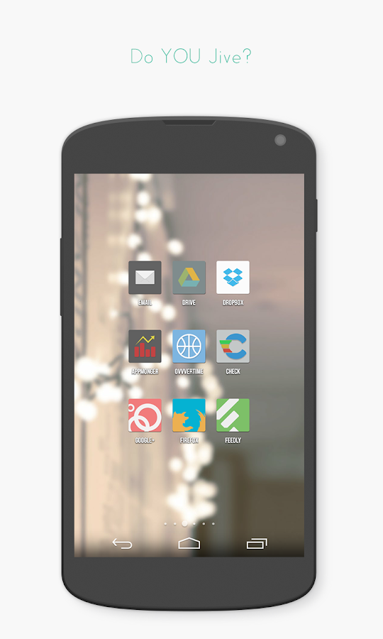 Jive Icon Pack (DEMO)- screenshot