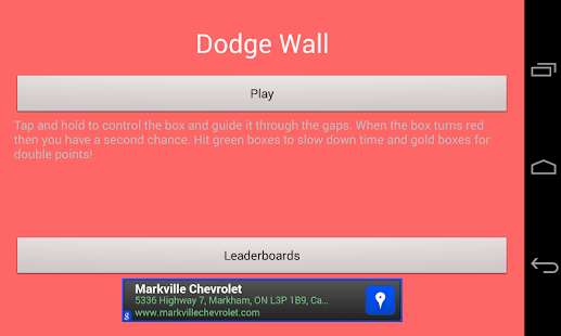 Dodge Wall - screenshot thumbnail