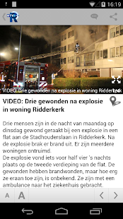RTV Rijnmond - screenshot thumbnail