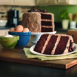 Nana's Simple Chocolate Cake.
