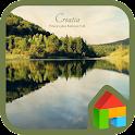 Croatia dodol launcher theme icon