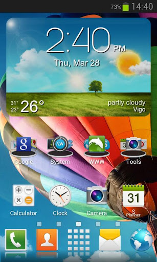 Galaxy S4 HD Multi Launcher Theme v1.0 APK