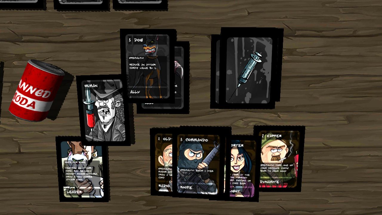 Infected: 22 Cards Later DEMO - screenshot