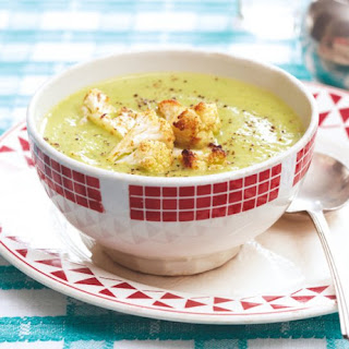Cauliflower and Arugula Soup.