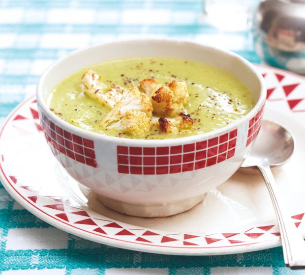 Cauliflower and Arugula Soup Recipe