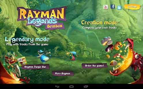 بازی ریمن و افسانه جعبه Rayman Legends Beatbox v1.0.0