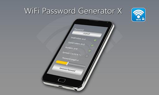 Wifi Password Generator X