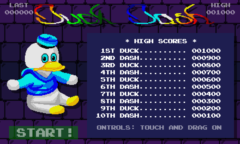 Duck Dash- screenshot