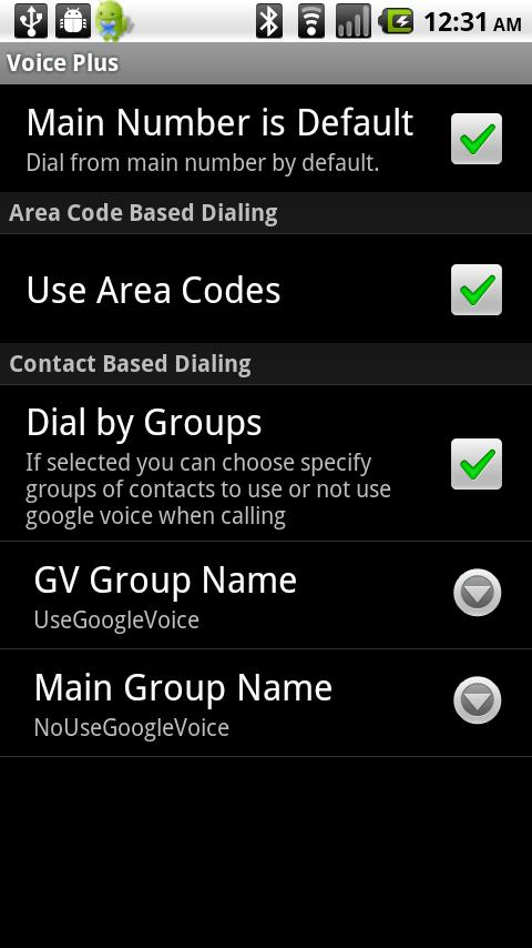 Voice Plus- screenshot