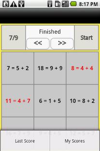 Reverse one-digit addition- screenshot thumbnail