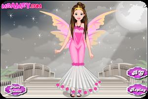 Screenshot of Cute Angel Dress Up