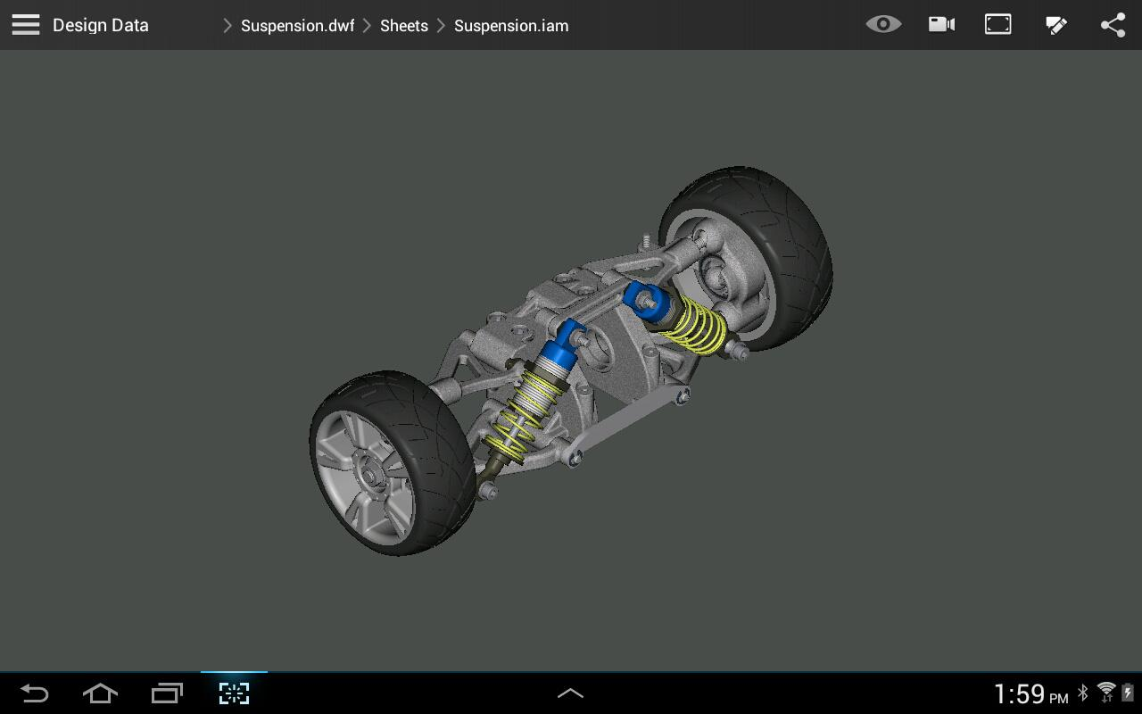 Autodesk 360 Mobile - screenshot