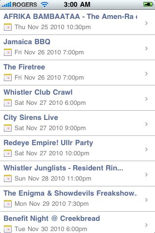 What's On! - screenshot