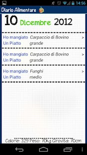 Diario Alimentare - screenshot thumbnail