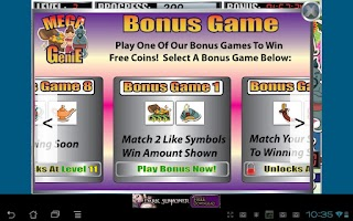 Screenshot of Mega Genie Slot Machine